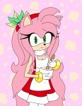 Older Amy Rose ~ Cooking... by xColiiLuna