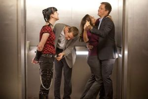 McAbby and Tiva Elevator by LivyRox