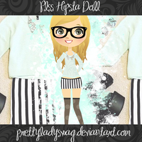 Plss Hipsta Doll PNG by PrettyLadySwag