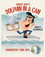 Dolphin in a Can by Teaessare