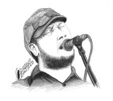 Isaac Brock from Modest Mouse by Gustavo-Santiago