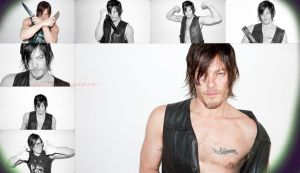 Norman Reedus collage (number....?) by Evymonster9406