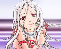 Deadman Wonderland shiro by titaniaerza