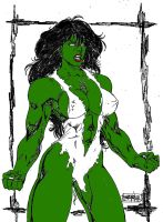 Savage She-Hulk by Dairugger