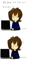 my day on the net by tzumii
