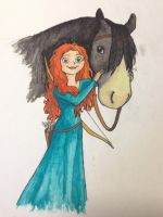 Merida by ViolePandora