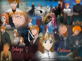 REQUEST: Ichigo and Orihime by Lady1Venus