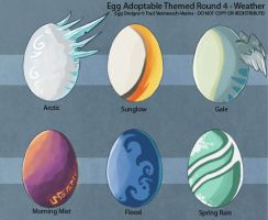 Egg Adoptable Themed Round - Weather  (ALL GONE!) by Ulario