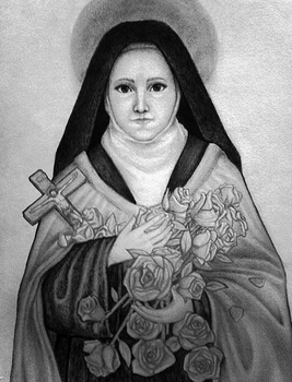 Saint Therese of the Child Jesus by Christus-Imperat