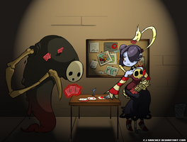 Squigly and Squiggly by CJ-Sanchez