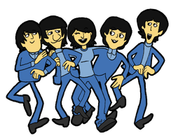 With the Boys-Beatles fanart by NatAsplund