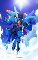 Thundercracker by Ahrrr
