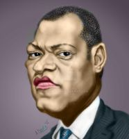 Laurence Fishburne by adavis57