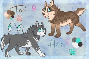 I Adopted Woofies! :la: by SillyTheWolf