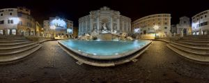 Piazza Trevi by immauss