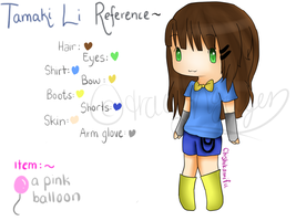 OC Tamaki Li new reference by chishiu