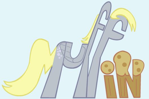 Derpy Hooves Muffin My little Pony by sallycars
