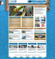 Fishing Magazine by alwinred by WebMagic