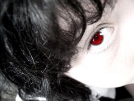 Pale red eye by stickopotamu