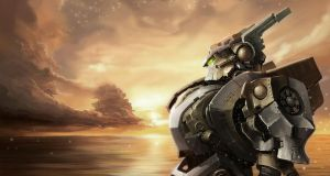 In anticipation of the battle by Gin-sensei