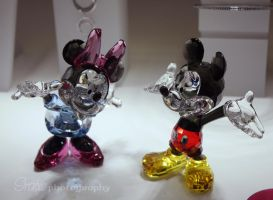 Mickey and Minnie Mouse by iratxe1414