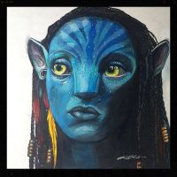 Neytiri (Avatar) Drawing by PencilRick