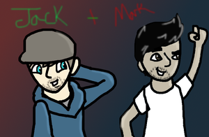 Jack Plus Mark by Ashben11