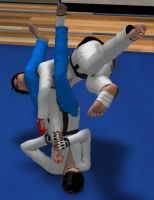 Request: Judo fight 3 by Sorr0wfullWhit3Raven