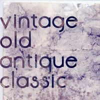 Vintage Old Antique Classic by GreciaLondres