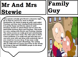 Dodsley's Thoughts - Mr And Mrs Stewie by DodsleyCritic