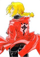 Edward Elric by HaleyScoo