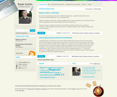 svicin.sk web 2.0 blog design by luqa