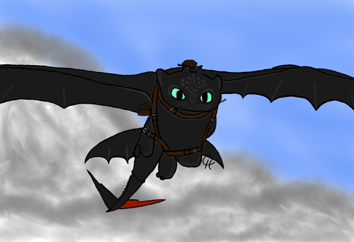 Toothless: HTTYD2 by Maximum-Ride14