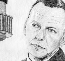 Sinatra, Water Soluble Pencils by GregBHargreaves