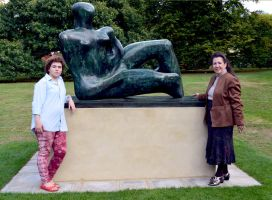 Mother And Child's Cut And Shut Henry Moore by aegiandyad