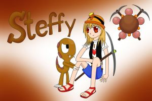 Fakemon Gym Leader #1: Steffy by AndkeAnka