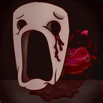Mask of Infamy - Binding of Isaac by Red-Ghost-Art