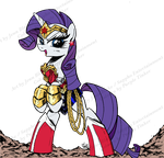 Wonder Rarity coloured by purpletinker