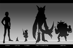 WoS: Species Height Comparison Chart by L1SKA