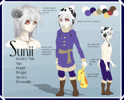 Sunii - Reference Sheet Commission by Ignyae
