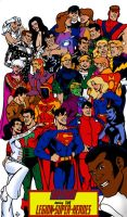 Legion of Super-Heroes by Joe-Singleton