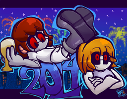 Happy 2014 by Pedrovin