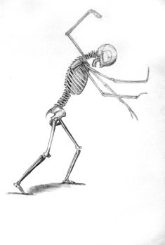 Mythical Creature- Skeletal by TheSpazOutLoud