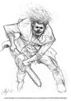 Leatherface by AustenMengler