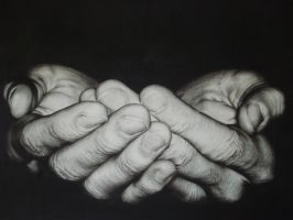 serving hands by harrybhoy