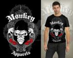 Proposed tees design for Monkey Apparels by exarxil