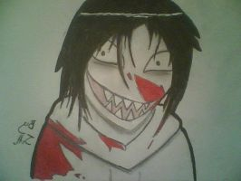 Jeff the killer by JazminHopkins