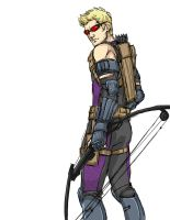 Hawkeye 2 by AndouHayate