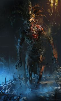 Death God by neisbeis