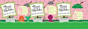 Bani Matcha Packaging Design by queenofthemonocle